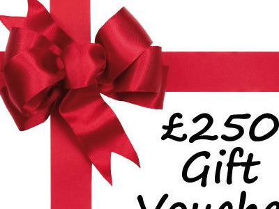 LEISURE WHEELS £250 Gift Voucher