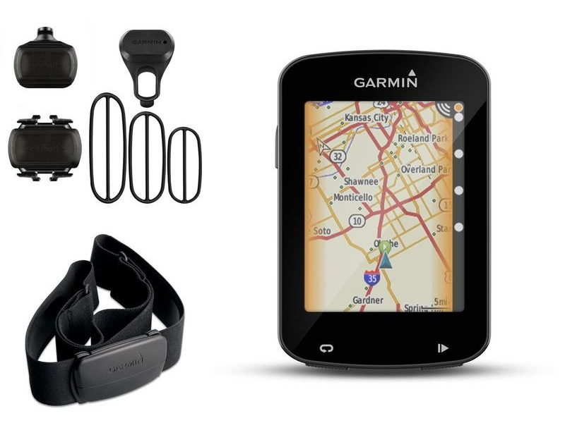 GARMIN Edge 820 GPS- enabled computer - performance bundle - speed / cadence and HRM click to zoom image