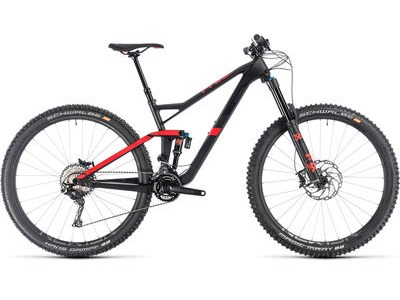 CUBE STEREO 150 C:62 RACE 29 CARBON/RED
