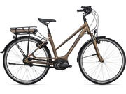 CUBE Travel Hybrid 500 Womens 46cm havanna brown/orange  click to zoom image