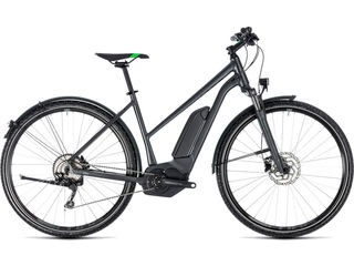 CUBE Cross Hybrid Pro AllRoad 400 T 46cm grey/grn  click to zoom image