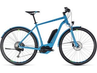 CUBE Cross Hybrid Race AllRoad 500 50cm blu/grn  click to zoom image