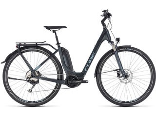 CUBE Touring Hybrid Pro 400 EE 46cm navy/blue  click to zoom image