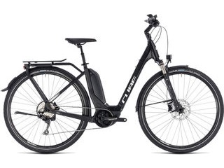 CUBE Touring Hybrid Pro 500 EE 46cm black/white  click to zoom image