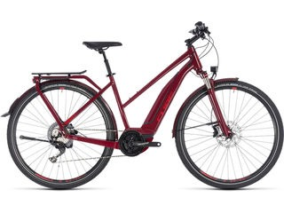 CUBE Touring Hybrid EXC 500 T 46cm darkred/red  click to zoom image