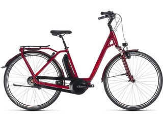 CUBE Town Hybrid Pro 500 EE 42cm darkred/red  click to zoom image