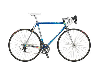 Colnago Master X-Light Frame Set Art Decor Blue & Black