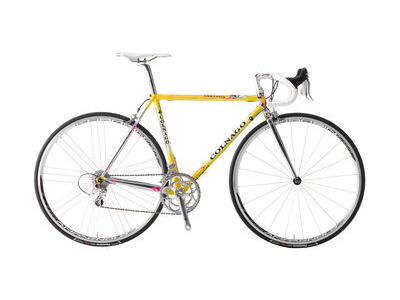 Colnago Master X-Light Frame Set Art Decor Yellow & Black