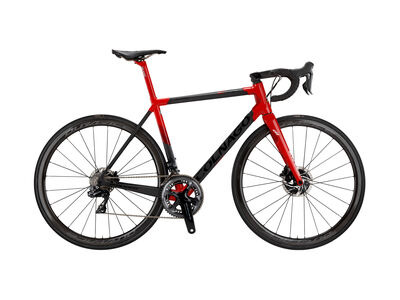 Colnago C64 Frame Set Matte Carbon, Gloss Red Lugs