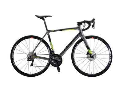 Colnago CLX Evo 2019 Frame Set CJAG, Satin Grey, Green & Yellow