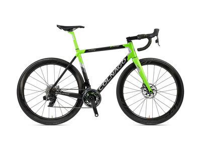 Colnago C64 Disc Int Frameset 2020 PJGR, Carbon, Green/Grey Lugs