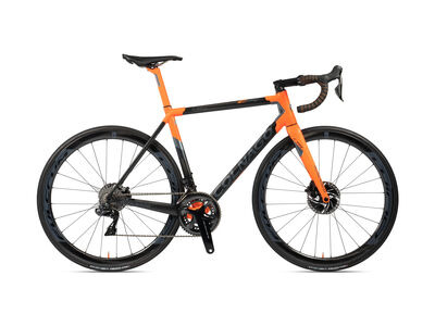 Colnago C64 Disc Int Frameset 2020 PJOR, Carbon, Orange/Grey Lugs