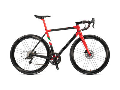 Colnago C64 Disc Int Frameset 2020 PJRI, Carbon, Red/Dark Red Lugs