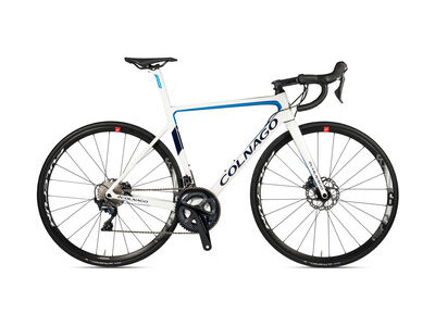 Colnago V3 Disc 2020 Complete Bike MKWH White Blue