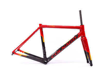 Colnago C64 Disc Int Custom Frameset 2020 CRDYL, Red & Yellow 50S