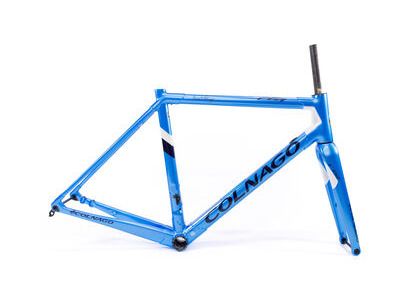 Colnago C64 Disc Int Custom Frameset 2020 CBLWH, Metalic Blue & White 52S