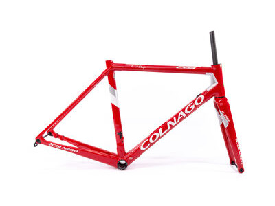 Colnago C64 Disc Int Custom Frameset 2020 CRDWH, Gloss Red & White 52S