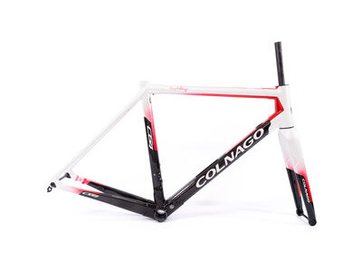 Colnago C64 Disc Int Custom Frameset 2020 CWHRD, Gloss White Red Fade & Black 52S