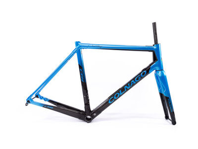 Colnago C64 Disc Int Custom Frameset 2020 CBLBK, Gloss Blue & Gloss Black 54S
