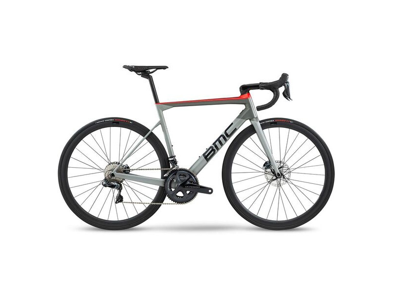 BMC Teammachine SLR01 Disc Four Ultegra Di2 2020 Airforce Grey & Super Red click to zoom image